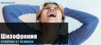Чем психоз отличается от шизофрении?